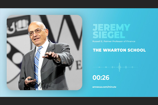 Episode 1: Professor Jeremy Siegel Bearish on Bonds?